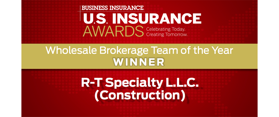 RSG Honored at BI U.S. Insurance Awards
