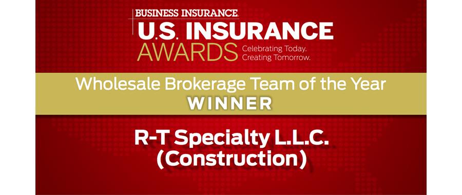 RSG Honored at BI U.S. Insurance Awards