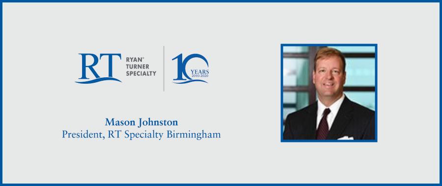 Mason Johnston, Senior Property Broker, Joins RT Specialty