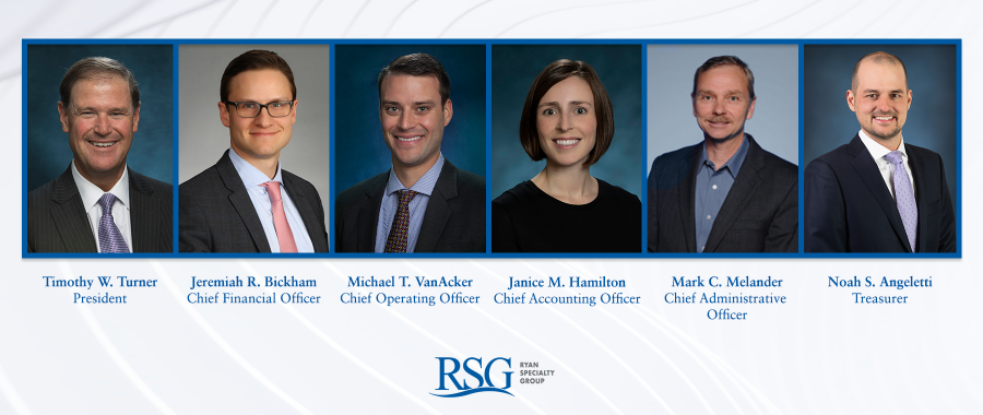 Ryan Specialty Group Announces Expanded Executive Leadership Team